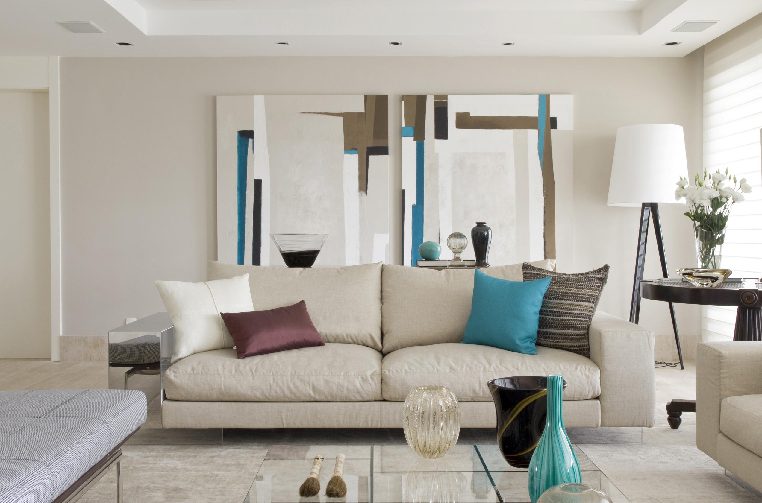 decoracao de apartamentos pequenos de praia : decoracao de apartamentos pequenos de praia:com uma paleta neutra de cores e pitadas de tonalidades marcantes o